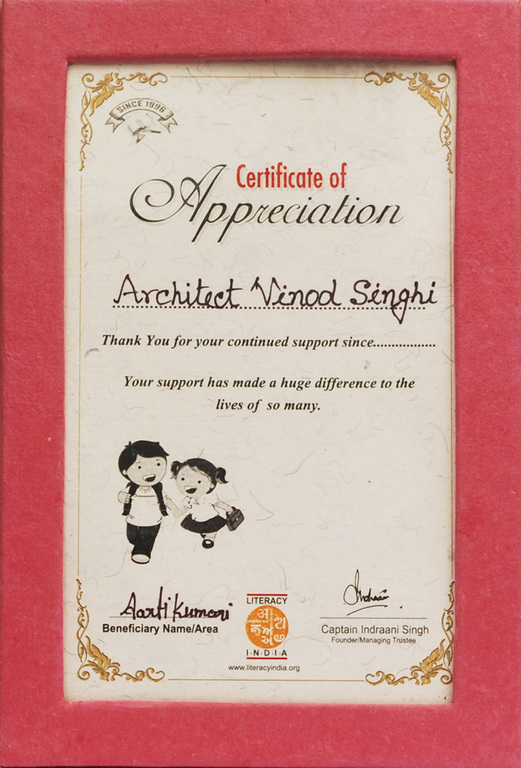 Literacy India Award