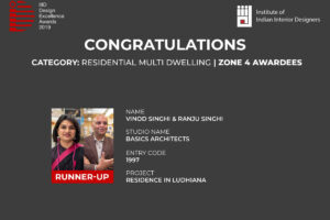 IIID Design Excellence 2020 – Zonal Winners – Residential Multi-Dwelling Category